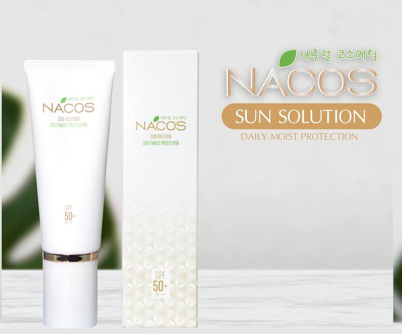 Bộ sản phẩm Nacos - Kem Chống Nắng Nacos Sun Solution Daily Moist Protection Cream - Giá: 530,000 vnđ